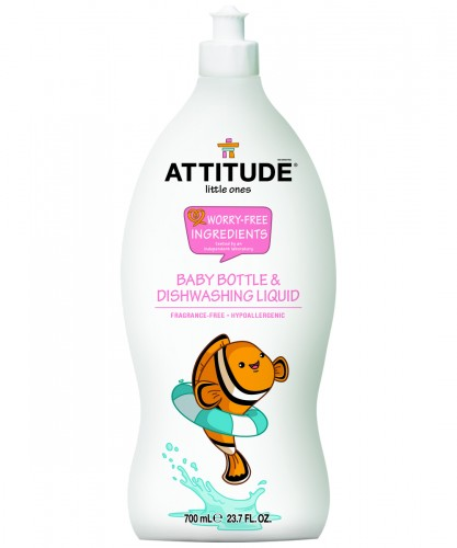 超濃縮嬰兒奶瓶餐具洗潔劑-無味 (700ml)