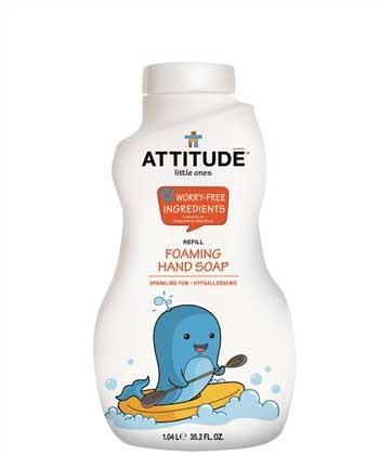 泡沫洗手液(補充裝) - 繽紛香橙 (1.04L)