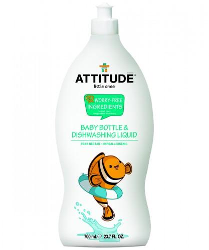 超濃縮嬰兒奶瓶餐具洗潔劑-蜜梨清香 (700ml)